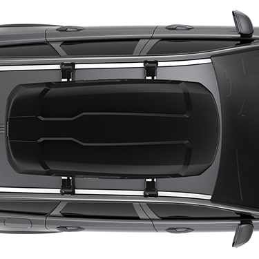 Дизайн авто бокса Thule Force XT M